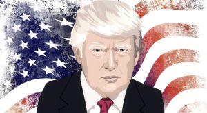 Donald Trump USAs president 2016-2020